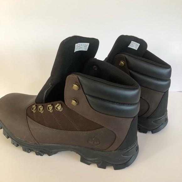 654283da Timberland Shoes | Rangeley Brown Leather Hiking Boots | Poshmark